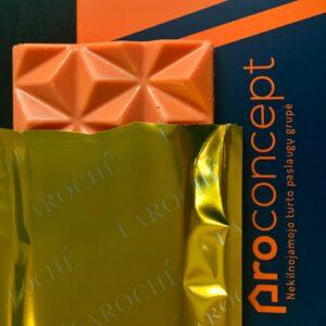 dovana naujakuriams, proconcept, laroche oranzinis sokoladas