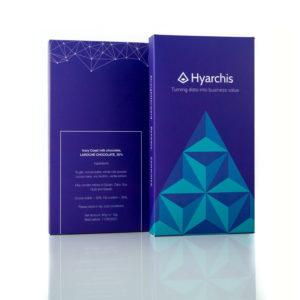 hyarchis, pieniskas sokoladas, rebranding,